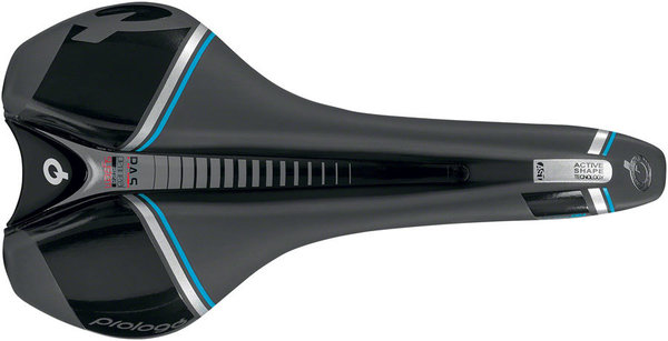 Prologo Nago DEA T2.0 Saddle Color: Hard Black/Blue