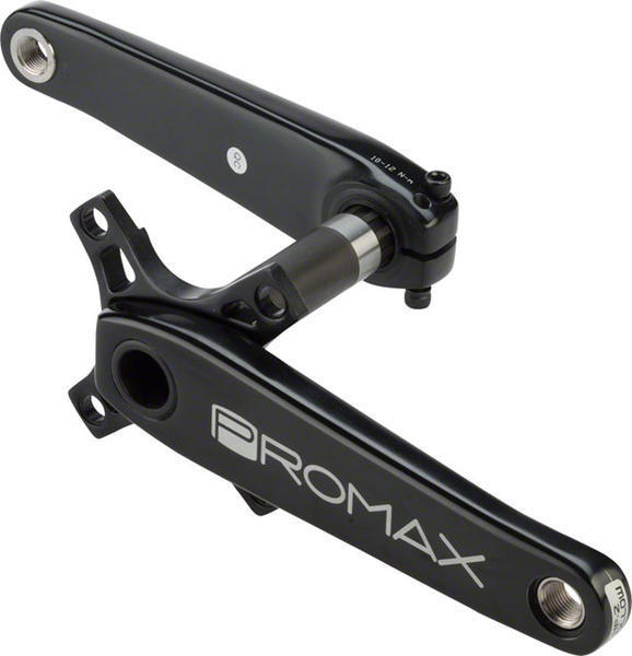 Promax HF-2 Crank Set Color: Black