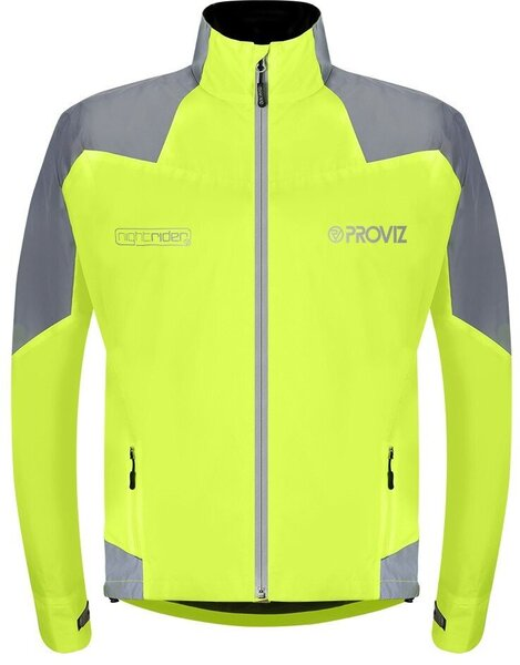 Proviz Nightrider Men's Cycling Jacket 2.0 Color: Yellow