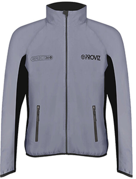 Proviz REFLECT360 Men's Running Jacket Color: Reflective Grey