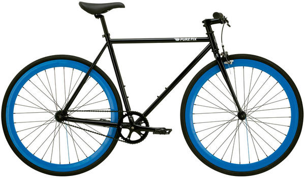 Pure Cycles Bravo Color: Gloss Black/Opalescent Blue