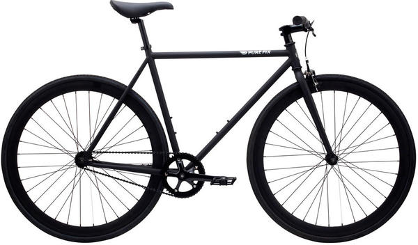 Pure Cycles Juliet Color: Matte Black/Black Magic