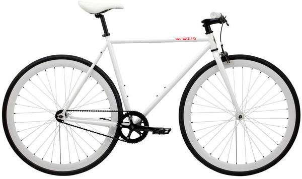 Pure Cycles Romeo Color: White/Herculean White