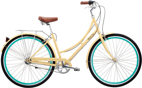 Pure Cycles Abbey 3-Speed - Women's Color: Cream/Celeste