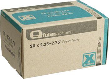 Q-Tubes Extreme Tube (26 x 2.35-2.75 inch, Presta Valve)