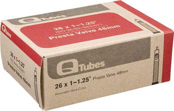 Q-Tubes Tube (26 x 1-1.25 inch, Presta Valve)