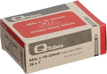 Q-Tubes Tube (26 x 1 inch, Presta Valve) (650C)