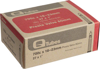 Q-Tubes Tube (700c x 18-23mm, Presta Valve) Size | Valve Length: 700c x 18 – 23 | 60mm