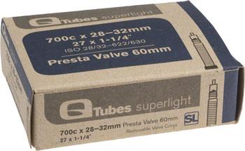 Q-Tubes Superlight Tube (700c x 28-32mm, Presta Valve)