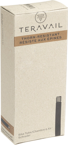 Teravail Thorn Resistant Tube (27.5 x 2.0 – 2.25 inch, 48mm Schrader Valve) (650B)