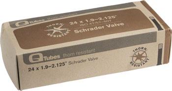 Q-Tubes Thorn Resistant Tube (24 x 1.9-2.125, Schrader Valve)