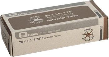Q-Tubes Thorn Resistant Tube (26-inch, Schrader Valve)