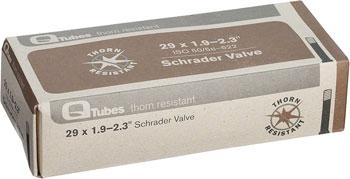 Q-Tubes Thorn Resistant Tube (29 x 1.9-2.3 inch, Schrader Valve)