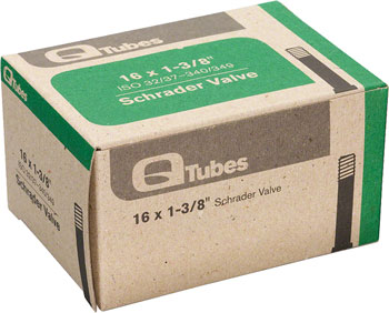 Q-Tubes Tube (16 x 1-3/8 inch, Schrader Valve)