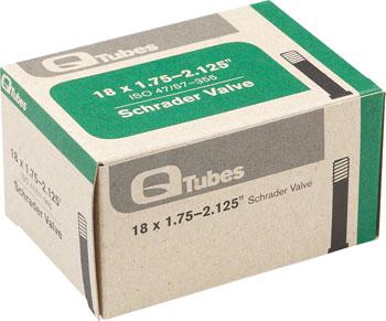 Q-Tubes Tube (18 x 1.75-2.125 inch, Schrader Valve)