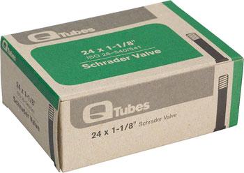 Q-Tubes Tube (24 x 1-1/8 inch, Schrader Valve)