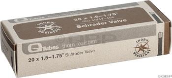 Q-Tubes Thorn Resistant Tube (20-inch, Schrader Valve)