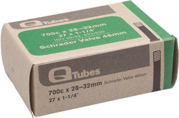 Q-Tubes Tube (700c, 48mm Schrader Valve)