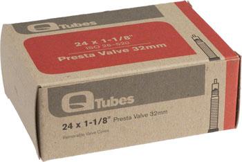 Q-Tubes Tube (24 x 1-1/8 inch, 32mm Presta Valve)