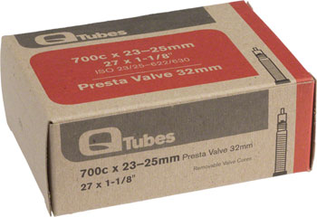 Q-Tubes Tube (700c x 23-25mm, Presta Valve) Size | Valve Length: 700c x 23 – 25 | 32mm