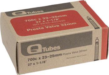 Q-Tubes Tube (700c x 23-25mm, Presta Valve)
