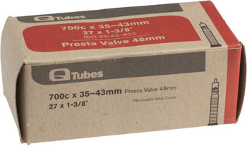 Q-Tubes Tube (700c x 35-43mm, Presta Valve) Size | Valve Length: 700c x 35 – 43 | 48mm