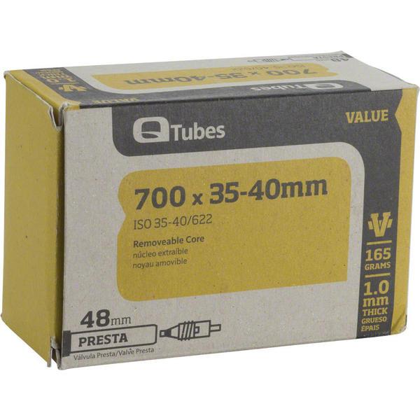 Q-Tubes Value Series Tube (700C x 35-40 Presta Valve)