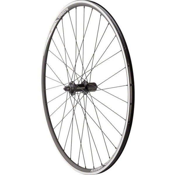 Quality Wheels Shimano Tiagra RS400 / Alex DA22 700c Rear Axle | Cassette Compatibility | Color | Size: QR | Shimano/SRAM | Black | 700c