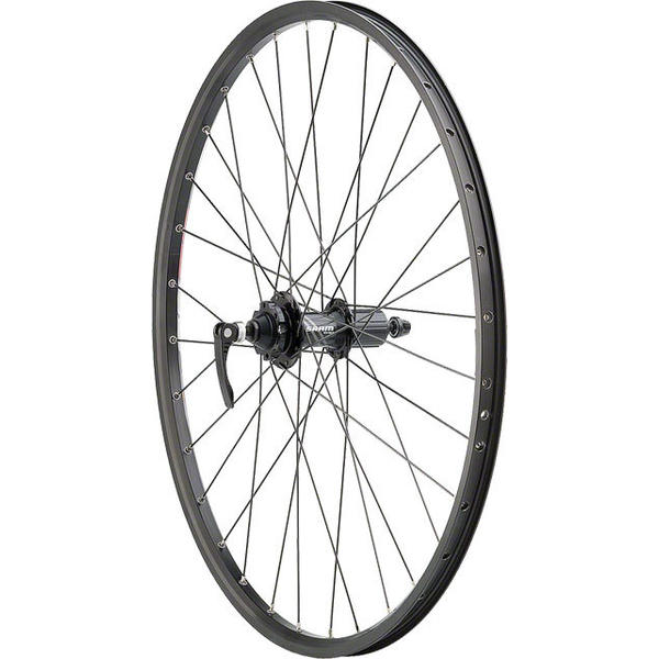 Quality Wheels SRAM 406 6-bolt / Sun SR25 26-inch Rear