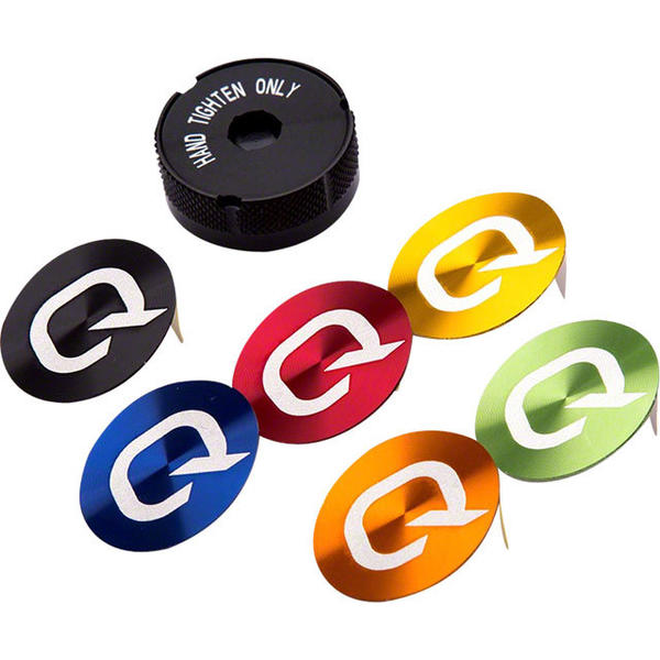 Quarq Battery Cover with Colored Decals