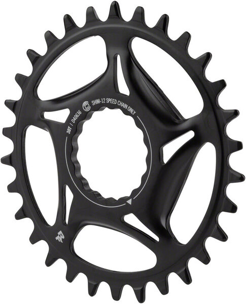 Race Face 1x Chainring, Cinch Direct Mount, Steel - SHI-12
