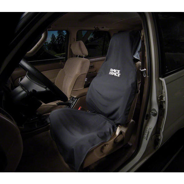 Race Face Car Seat Cover Color: Black