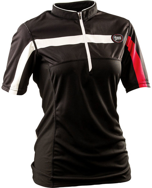 Race Face DIY Women's Short Sleeve Jersey Color: Black