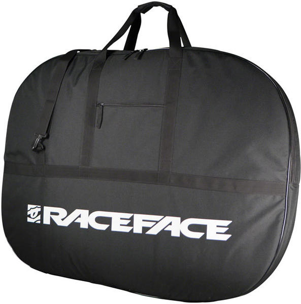 Race Face Double Wheel Bag Color: Black