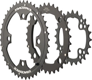 Race Face Evolve Chainring Set, 10-speed Color: Black