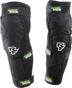 Race Face Flank Leg Guards Color: Black