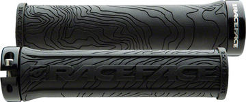 Race Face Half Nelson Lock-On Grips Color: Black