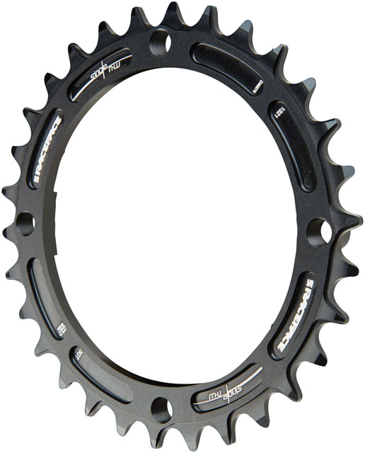 Race Face Narrow-Wide Chainring BCD | Color | Size: 104mm | Black | 30T
