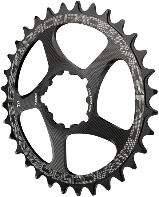 Race Face Narrow-Wide Direct Mount 3-Bolt Chainring Color: Black