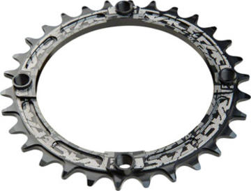 Race Face Narrow-Wide Single Chainring Color: Black