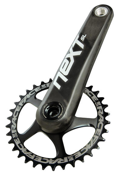 Race Face Next SL Cinch Crankarms Chainring sold separately. Image differs from actual product.