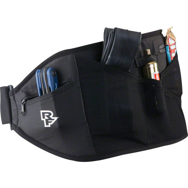 Race Face Rip Strip Lumbar Belt Color: Black