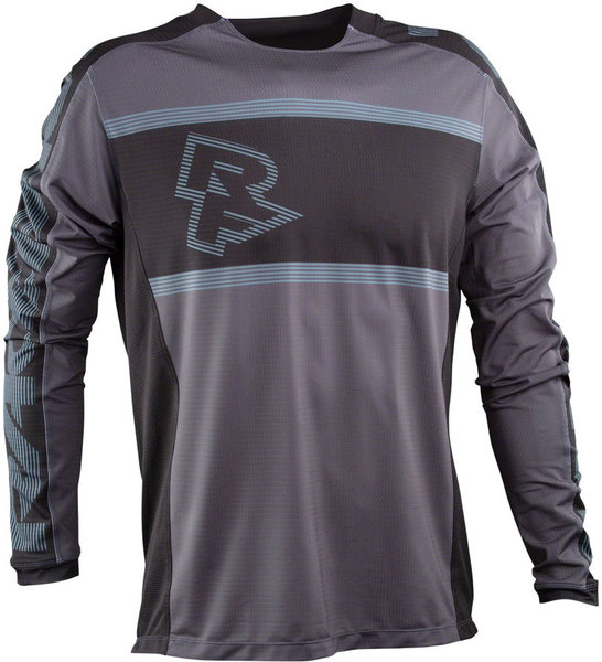 Race Face Ruxton Long Sleeve Jersey Color: Black