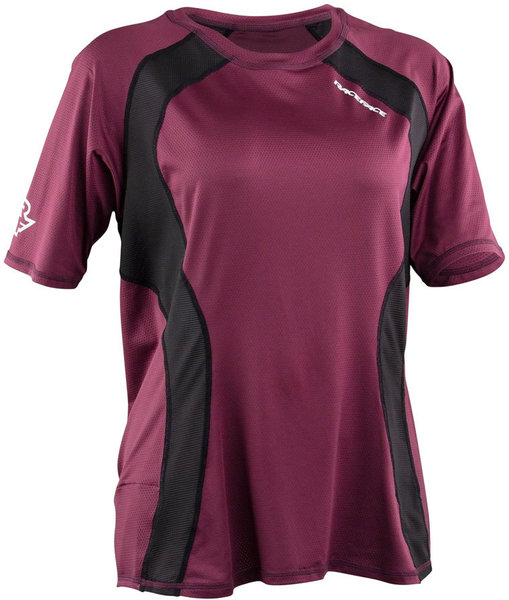 Race Face Traverse Jersey Color: Bordeaux