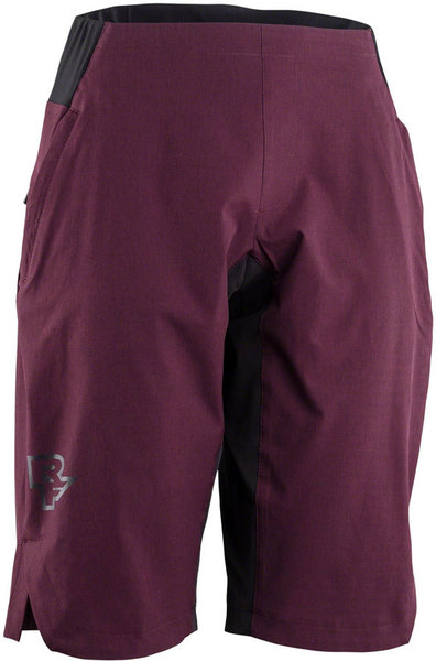 Race Face Traverse Short Color: Bordeaux
