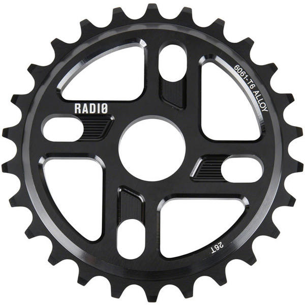 Radio Axis Sprocket Color: Black