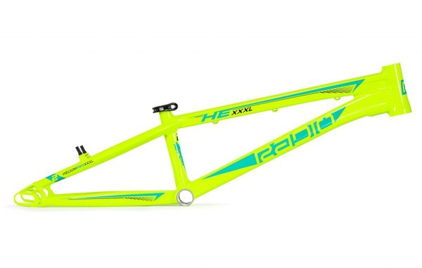 Radio Helium Pro XXXL Frame Color: Neon Yellow/Toothpaste