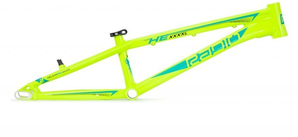 Radio Helium Pro XXXXL Frame Color: Black/Neon Yellow