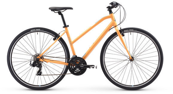 Raleigh Alysa 1 Color: Orange
