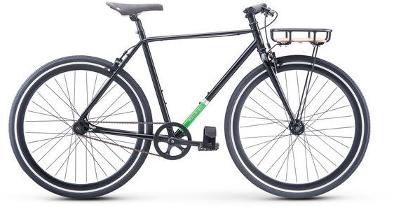 Raleigh Carlton Color: Black